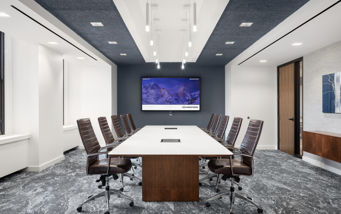 NewLane Finance private conference room